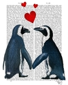 poster de pinguins