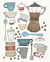 Coffee Chart I - Courtney Prahl - comprar online