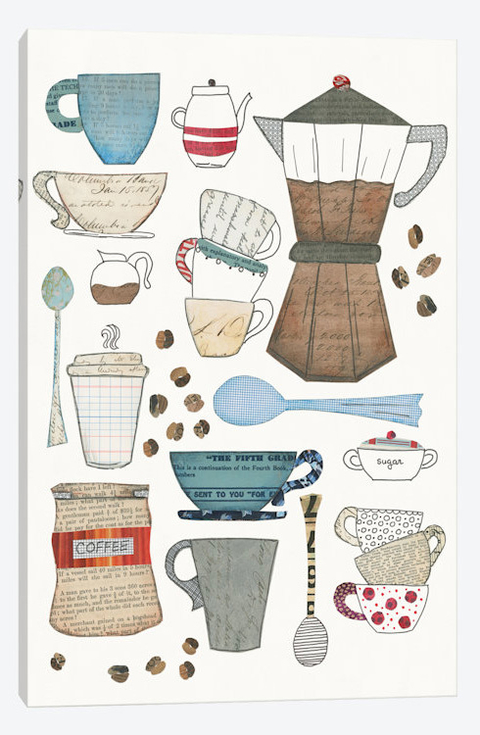 Coffee Chart I - Courtney Prahl na internet