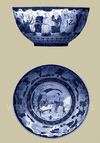 Porcelain in Blue and White II - Vision Studio - comprar online