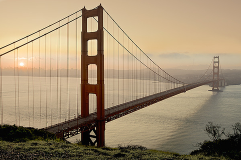 fotografia da Golden Gate