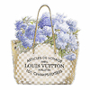 Indigo Bouquet with Gold Bag- Madeline Blake - comprar online