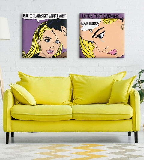2 Gravuras Pop Art - Patti Kelly
