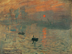 Sunrise Impression  - Claude Monet - comprar online