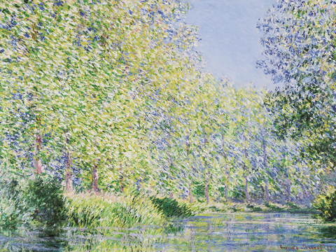 The Epte River near Giverny - Claude Monet - comprar online