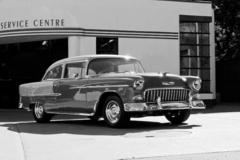 1955 Chevy Bel Air, Black &White - Clive Branson