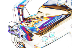 1964 Corvette Stingray, Abstracted - Clive Branson