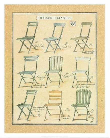 Chaises Pliantes by Laurence David - comprar online