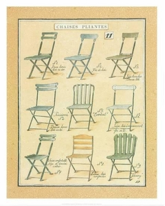 Chaises Pliantes by Laurence David