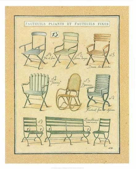 Fauteuils Pliants et Fauteuils Fixes XIII by Laurence David na internet