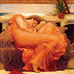 poster flaming june