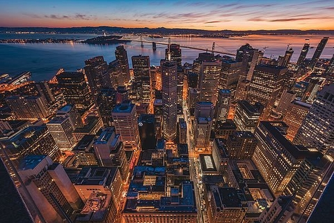 Morning Look Down San Francisco - Bruce Getty - comprar online