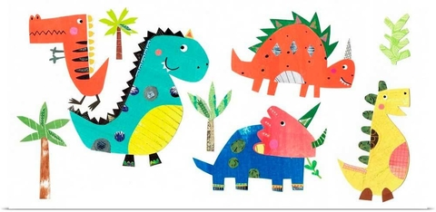 DINO PARTY - Kath and Elizabeth Pope