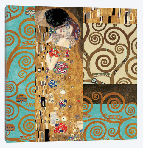 poster o beijo do klimt