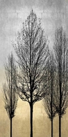 Trees on Silver & Gold II - Kate Bennett - comprar online