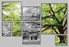GREEN WOODS 4 MOSAICO MULTICOR - comprar online