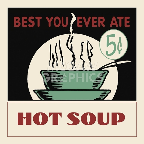 Hot Soup- Retro Series - comprar online