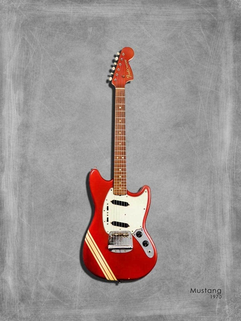 Fender Mustang 1970 - Marc Rogan na internet