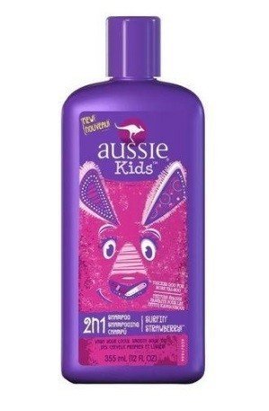 Shampoo-Condicionar Aussie Kids 2 N 1 Surfin Strawberry (Morango) - Aussie