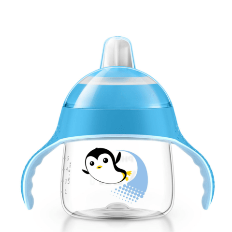 Copo Pinguim Philips Avent - 200ml - Azul