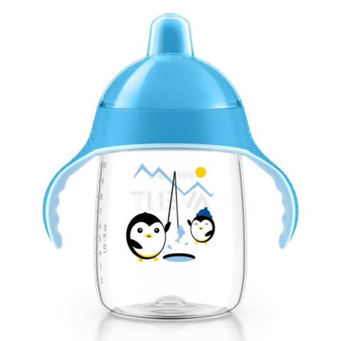Copo Pinguim Philips Avent -Azul 340ml