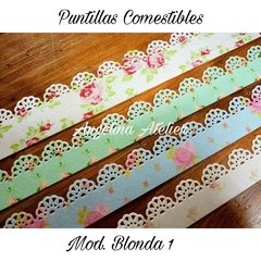 Puntillas Comestibles - Mod. Blonda