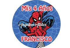 Lámina Comestible - Spiderman - comprar online