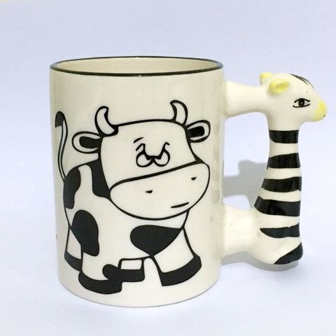 Caneca Not Your Mom - Alça Zebra