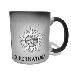 Caneca Mágica Supernatural Anti-Possessão na internet