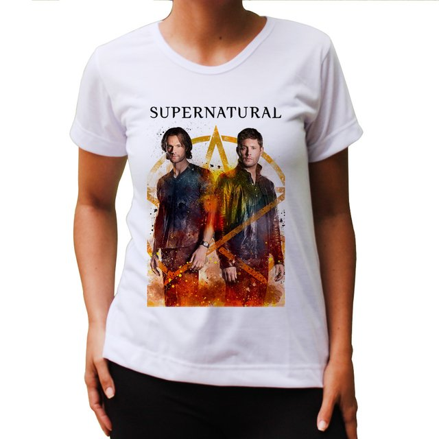 Baby Look  Supernatural Fire - comprar online