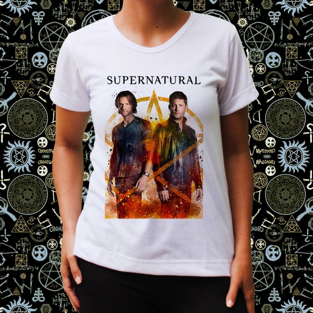Baby Look  Supernatural Fire