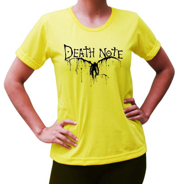 Baby Look Death Note - Shinigami - Cores - comprar online