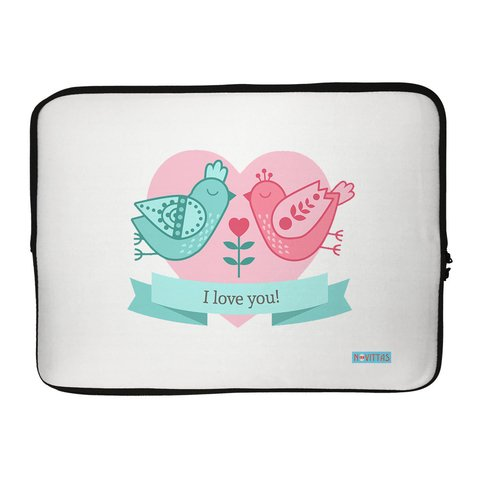 Capa para Notebook - Birds Love