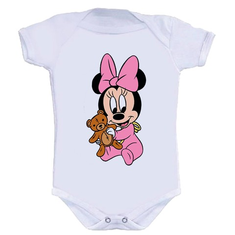 Body Infantil Minnie Baby