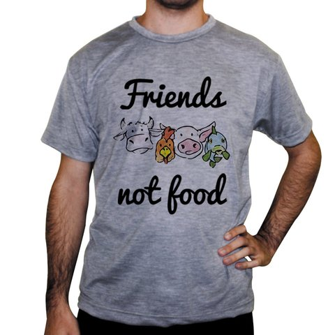 Imagem do Camiseta Friends Not Food - Cores
