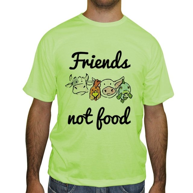 Camiseta Friends Not Food - Cores - Novittas - Presentes Personalizados