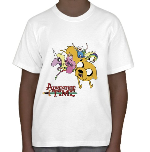 Camiseta Infantil Adventure Time