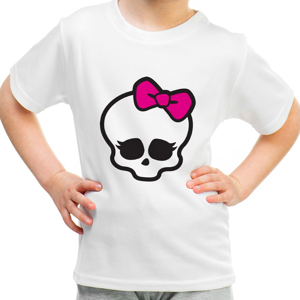 108e8c81cbdd2 Camiseta Infantil Monster High Skull