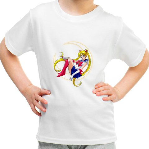Camiseta Infantil Sailor Moon - Serena