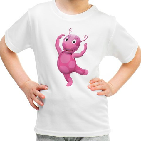 Camiseta Infantil Backyardigans - Uniqua