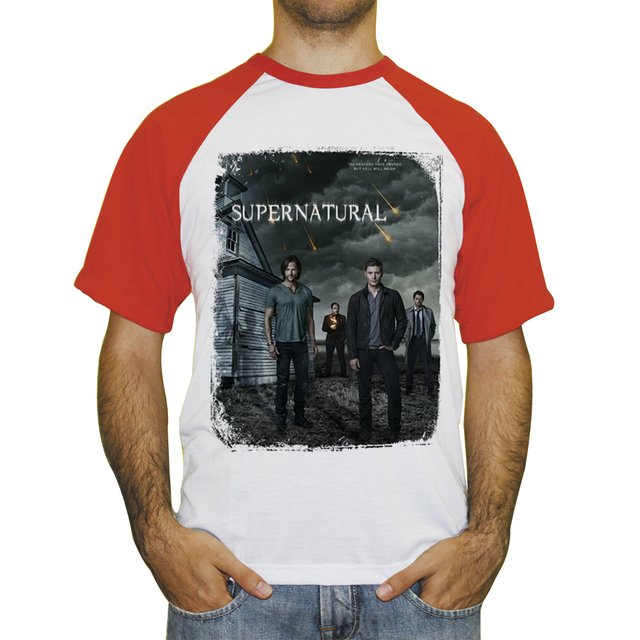 Camiseta Raglan Supernatural Join the Hunt - comprar online