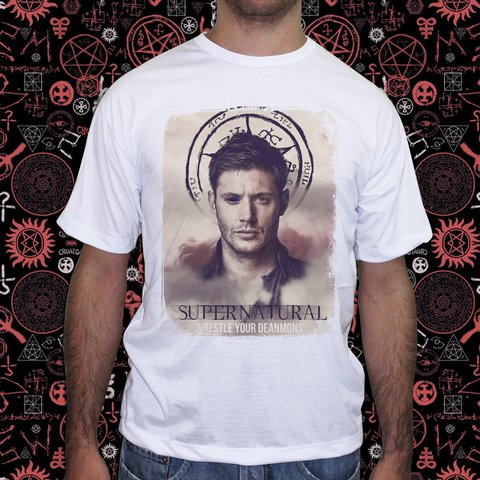 Camiseta Supernatural Dean