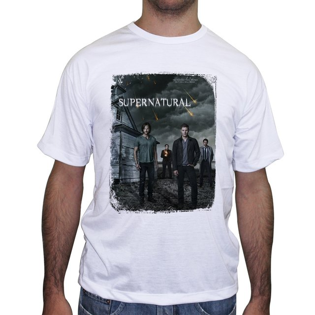 Camiseta Supernatural Join the Hunt - comprar online