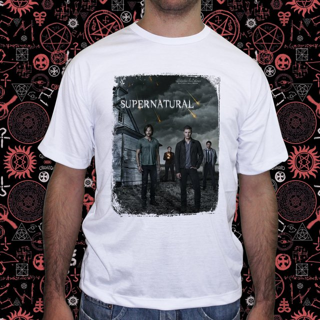 Camiseta Supernatural Join the Hunt