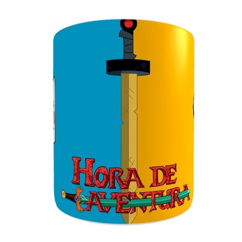 Caneca Adventure Time na internet