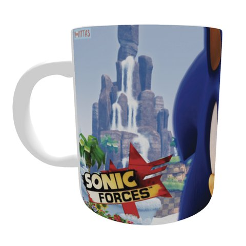 Caneca Sonic Forces na internet
