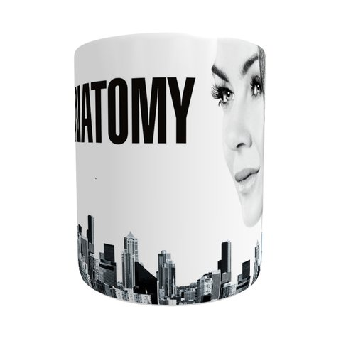 Caneca Grey's Anatomy - City - Novittas - Presentes Personalizados