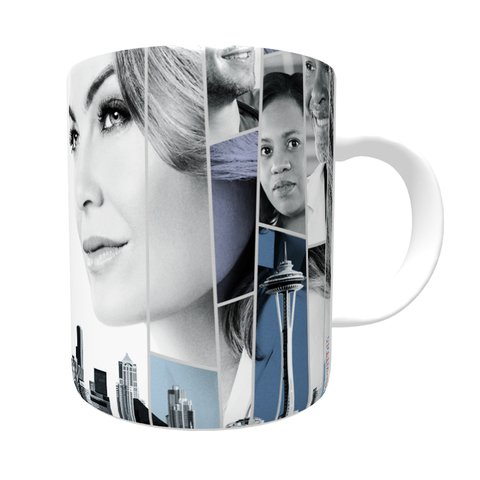 Caneca Grey's Anatomy - City