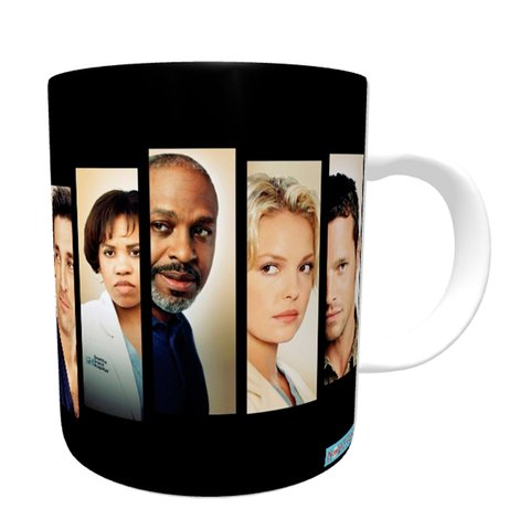 Caneca Grey's Anatomy - Faces - Novittas - Presentes Personalizados