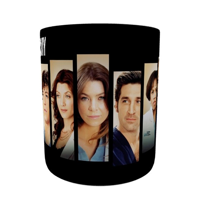 Caneca Grey's Anatomy - Faces na internet
